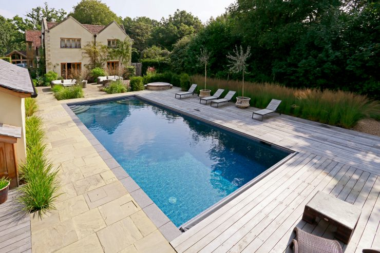 UK Pool & Spa Awards 2017 - Gold Standard - Residential Outdoor Pool Of The Year (Under £100,000)
