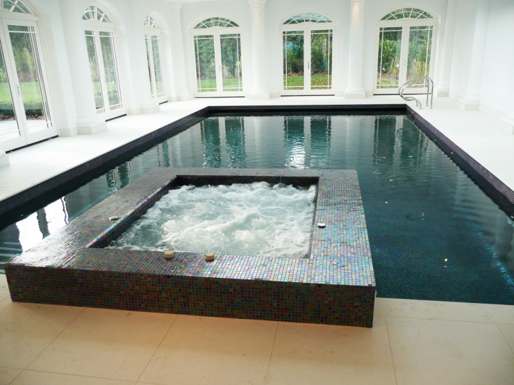 Indoor traditional pool