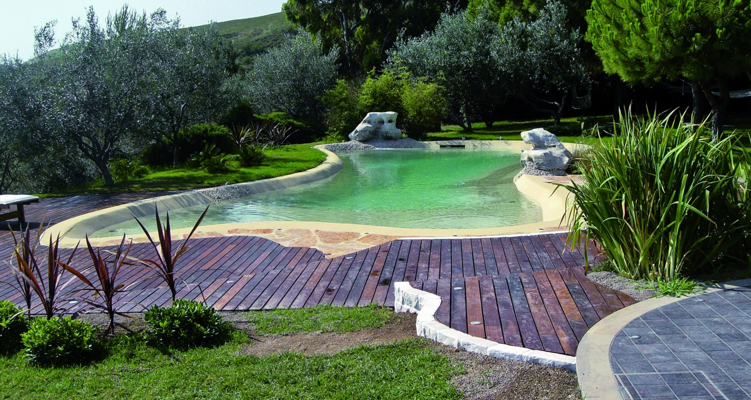 Outdoor natural pool  Biodesign Swimming Pool Design & Construction | Falcon PoolsFalcon ...