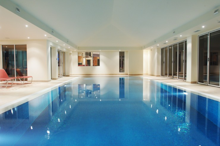 indoor pool traditional
