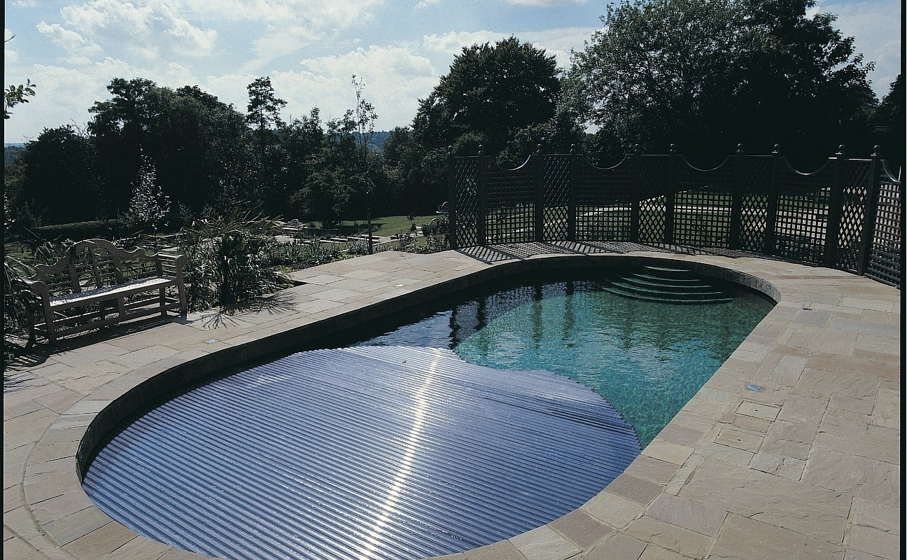 Automatic Pool Covers & Pool Accessories | Falcon Pools, Surrey