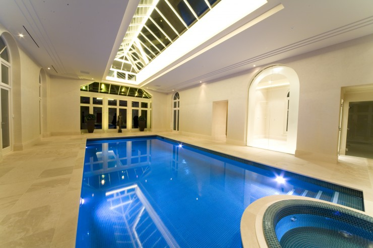 gold indoor pool