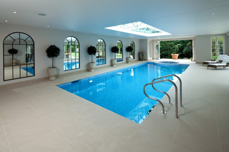 Traditional pool silver