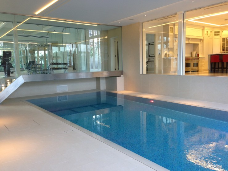 Modern Swimming Pool & GYM