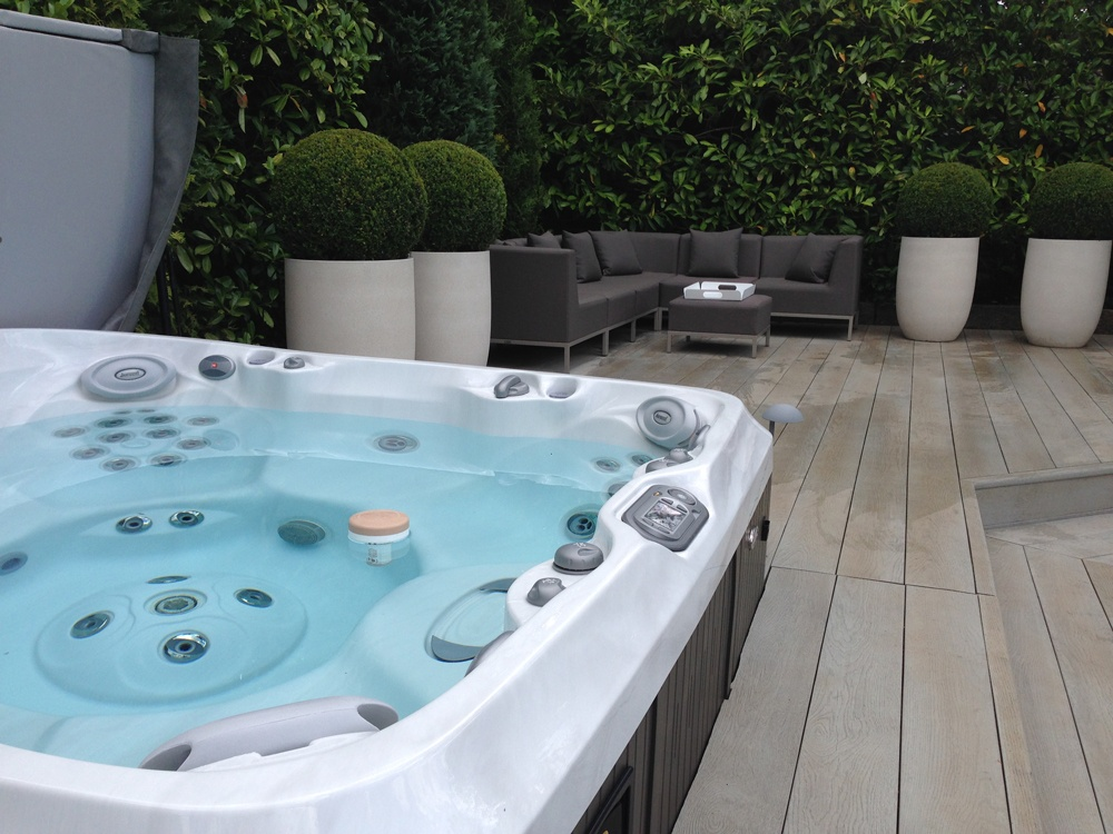 Award winning hot tub