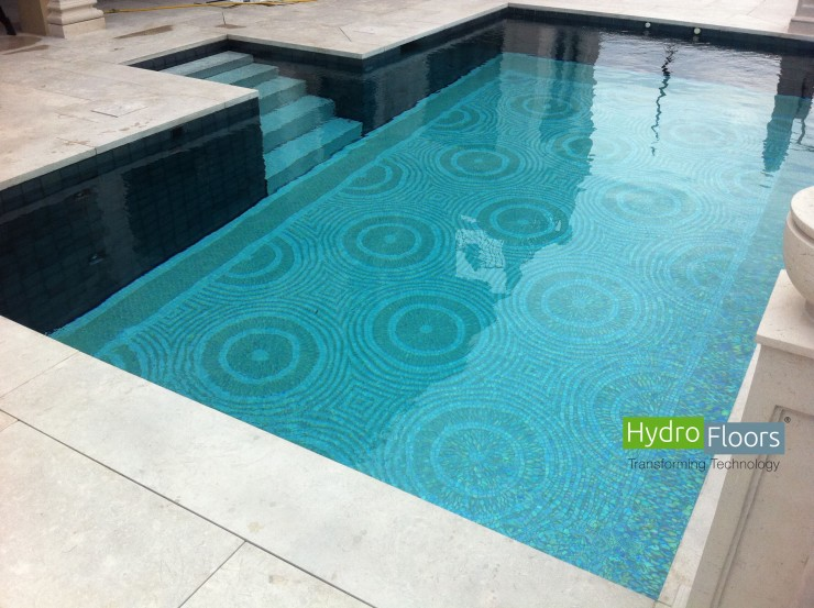 HydroFloors - Pools that make space