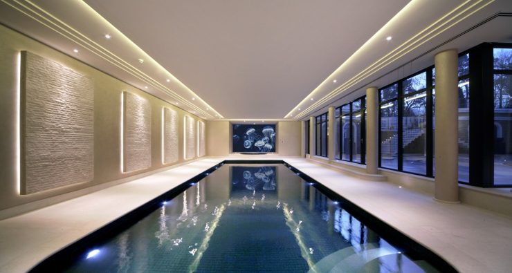 Indoor swimming pool inspiration falcon poolsfalcon pools for Indoor pool design uk