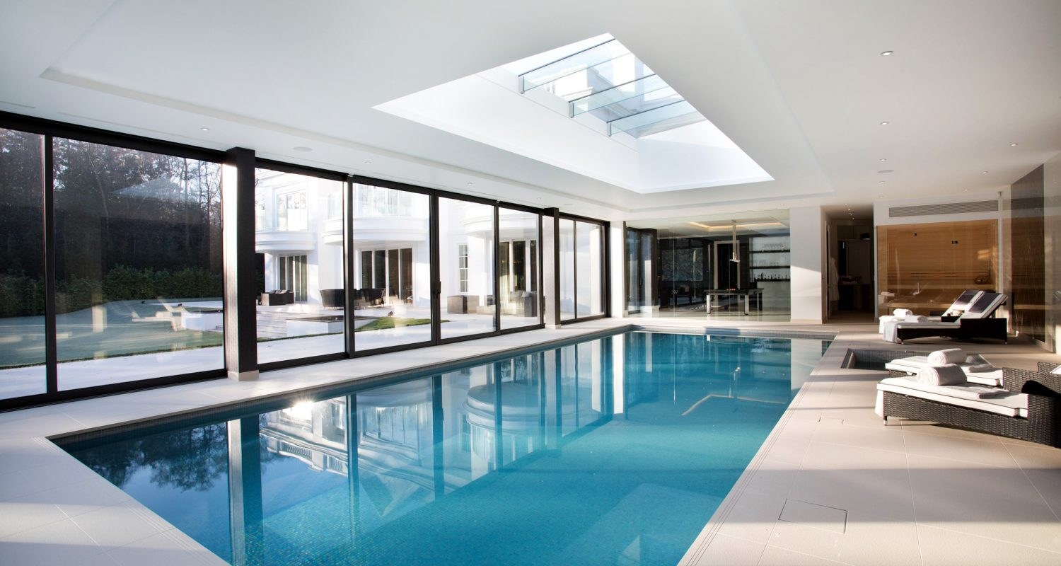 Indoor Swimming Pool Design & Construction - Falcon Pools