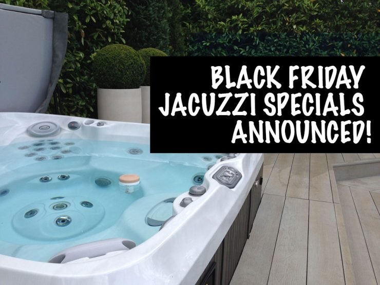 Jacuzzi Black Friday Special Offer from Falcon Pools